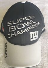 New York Giants Super Bowl XLVI Champions Onfield Reebok Cap -One size fits all-