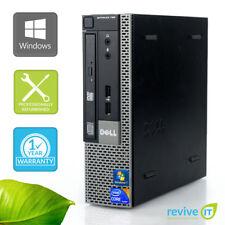 Dell Optiplex 790 USFF  i5-2400S 2.50GHz 4GB 500GB Win 10 Pro 1 Yr Wty