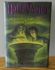 "2005 ""Harry Potter and the Half-Blood Prince book 6 by J. K. Rowling 1st edition"