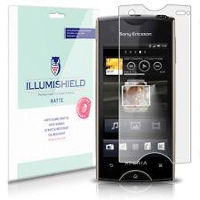 iLLumiShield Anti-Glare Matte Screen Protector 3x for Sony Ericsson Xperia ray