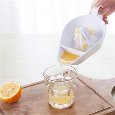 Plastique Cuisine Fruit Outil Manual Juicer Presse Citron vert Agrumes huq