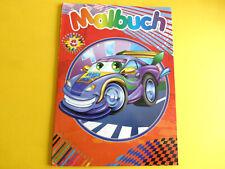 Malbuch für Kinder Autos ca:29x21cm ca:48Vorlagen