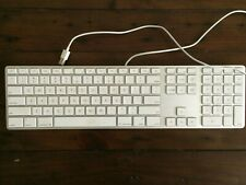 Apple A1243 MB110LL/A Wired Keyboard - Used