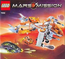 Rare LEGO Mars Mission MX-71 Recon Dropship (7692) Unassembled In Sorted Bags