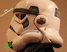 Ukswrath's Sandtrooper helmet Audio System w/Voice Modulation