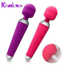 Multi Speed Personal Wand Massager Vibrator USB Rechargable Female
