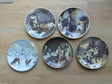 Vintage Set of 5 Collectible Dishes Made in GDR (German Democratic Republic)