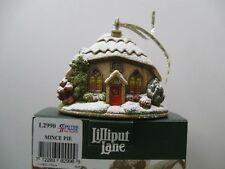 "Lilliput Lane L2990 ""Mince Pie"" New - Mint in box with deed. 2007 Xmas Ornament"