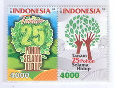 INDONESIA 2017-7 ENVIRONMENT CARE SET STAMPS MNH