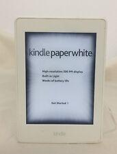 Amazon Kindle Paperwhite 3 (7th Generation) Wi-Fi +3G - White  50-8A