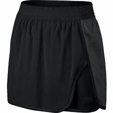 Women' Nike Court Tennis Skort Skirt Shorts Size SMALL Black/Gray 726100 032 NWT