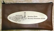 VINTAGE - HERSHEY Chocolate Factory ZIPPERED BANK CASH BAG - New NOS
