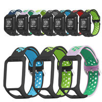 de silicone Bracelet bicolore Bracelet For TomTom Spark Runner 3/2 Series Watch