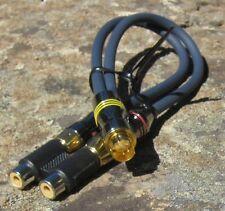S-Video Monitor Adapter Male Mini DIN to Male & Female RCA Atari 800/XL/XE New