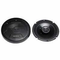 Hifonics Zeus ZS65CXS 6.5 Inch 3 Way 300W Shallow Mount Coaxial Speakers, Pair