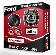 Ford KA Rear Door speakers Pioneer car speaker kit + adapters 200W