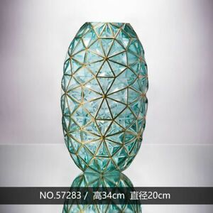 Glass Vase Home Decoration Hydroponic Minimalist Creative Decors For Dry Flowers