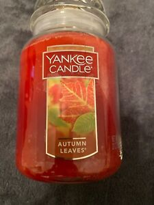 Yankee Candle 22 oz AUTUMN LEAVES Large Jar Candle