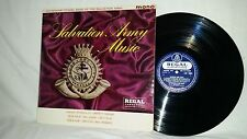 SALVATION ARMY MUSIC - TOTTENHAM CITADEL BAND - REGAL ZONOPHONE MONO LRZ-4003