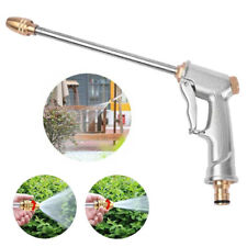 More details for high pressure water spray gun metal brass nozzle garden hose pipe lawn car wash