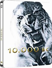 10 000 BC Premium Collection Steelbook Edition Blu-ray NEW SEALED