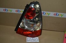06 07 08 Subaru Forester PASSENGER Side Tail Light Used Rear Lamp #1240-T