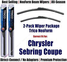 2pk Super-Premium NeoForm Wipers fit 2001-2005 Chrysler Sebring - 16240/220