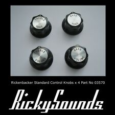 Rickenbacker Standard Control Knobs- 4 Piece Set