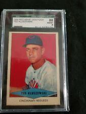 1954 Red Heart SETBREAK Ted Kluszewski Cincinnati Reds SGC 8 NM-MT nice