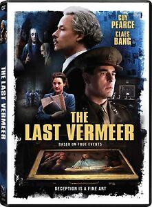 The Last Vermeer DVD Guy Pearce 2021 NEW