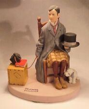 """Self Portrait"" - Norman Rockwell Porcelain Figurine - 1980 - Danbury Mint -MINT"