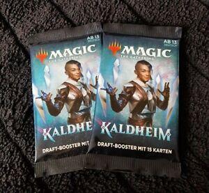 Magic the Gathering - MTG Kaldheim Booster Deutsch OVP 2 Stück