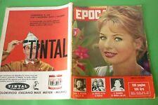 Période 1960 Annette Stroyberg + Maria Callas + Ira Furstenberg + TV Private +