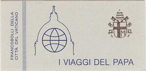 (BK02) Vatican MNH booklet : 1985   I Viaggi booklet