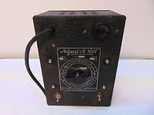 Standard Electrical Adjust A Volt Type Sa 5 S5472