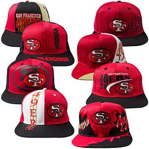 Vintage Snapback Cap SF49ers NFL Football Super Bowl XLVII Superbowl NY GIANTS