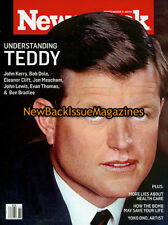 Newsweek 9/09,Teddy Kennedy,Yoko Ono,Jane Lynch,September 2009,NEW