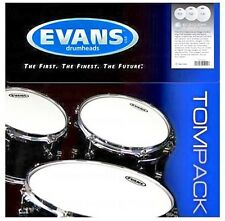 Evans ETP-G1CLR-S Genera G1 Clear Standard Tom Pack Fell Set