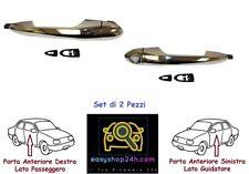 Maniglia Porta Anteriore destra Cromata Lancia New Ypsilon 5 Porte Dal 2011