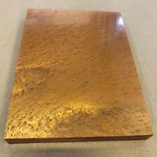 "Kirinite Copper Ice 6"" x 8"" x 20mm Acrylic Block for Catapult Making /Bush Craft"
