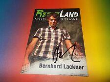 Bernhard Lackner  signiert signed autograph Autogramm auf Autogrammkarte