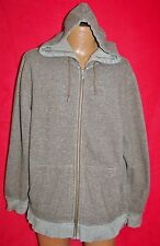 THE NORTH FACE Men's Mackomis Heather Brown Full Zip HOODIE JACKET XL Excellent