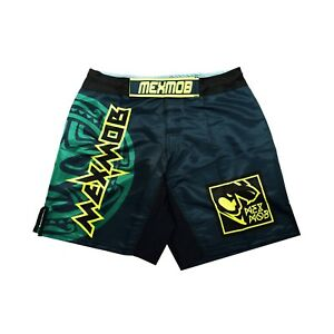 MEXMOB AZTEK SUN MMA JIU JITSU GRAPPLING BOX FIGHT SHORT