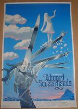 Laurent Durieux Edward Scissorhands Movie Poster Print Ballerina Variant Art