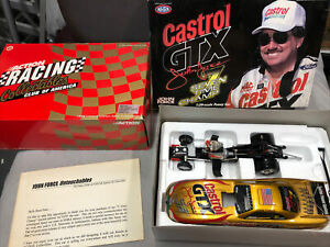 1998 Mustang Funny Car John Force 7 Time Champion 1:24 Scale AUTOGRAPHED ? W4