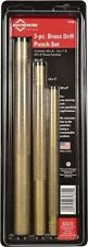 Mayhew Tools 61360 Brass Drift Punch Set, 3 Pieces