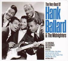 HANK BALLARD & THE MIDNIGHTERS - THE VERY BEST OF (NEW SEALED 2CD)