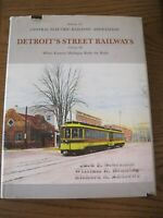 1984 railroad book - Detroit's Street Railways, Volume 3 - CERA Bulletin 123