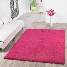 Soft Plain Shaggy Pink Cheap Girls Rugs Small Large Nursery New Mats Carpet