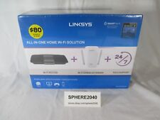 Linksys F5Z0636 All-in-One WiFi Solution w/ AC1750 Router & AC1200 Extender NIB